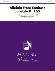 Alleluia (from <i>Exultate Jubilate,</i> K. 165)