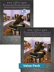 Exploring Piano Classics Level 3 (Value Pack)