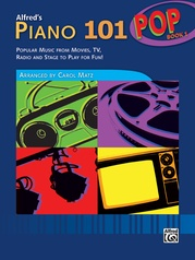 Alfred's Piano 101, Pop Book 1