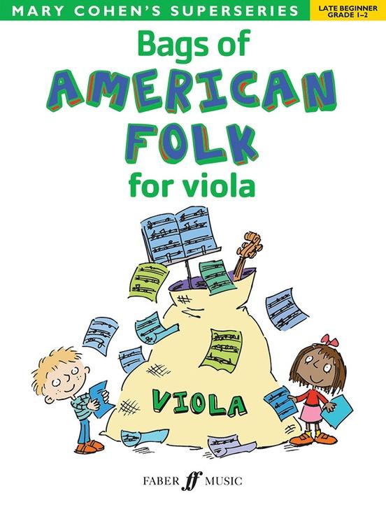 Bags of American Folk for Viola