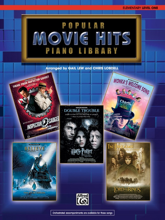 Popular Piano Library: Movie Hits, Level 1