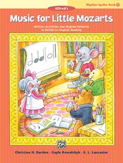 Music for Little Mozarts: Rhythm Speller, Book 1