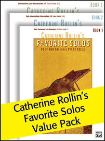 Catherine Rollin's Favorite Solos 1-3 (Value Pack)