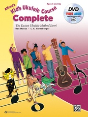 Alfred's Kid's Ukulele Course, Complete