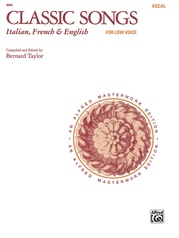 Classic Songs: Italian, French & English