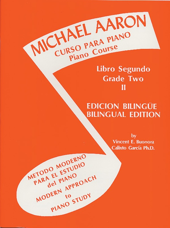 Michael Aaron Piano Course: Spanish & English Edition (Curso Para Piano), Book 2