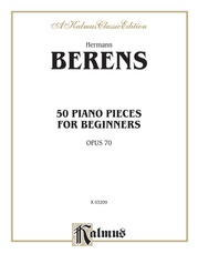 50 Piano Pieces for Beginners, Opus 70