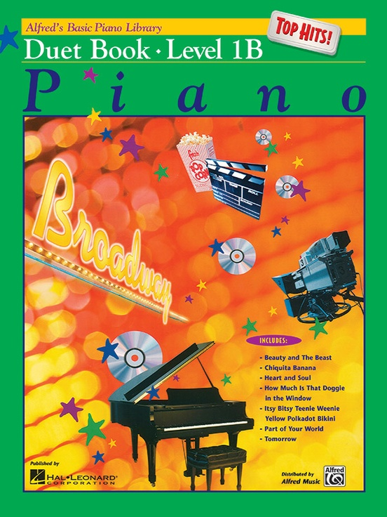 Alfred's Basic Piano Library: Top Hits! Duet Book 1B