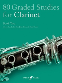 80 Graded Studies for Clarinet, Book Two