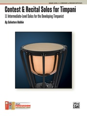 Contest & Recital Solos for Timpani
