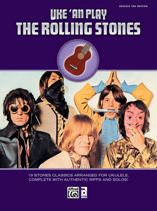 Uke An Play The Rolling Stones Ukulele Tab Book The Rolling Stones
