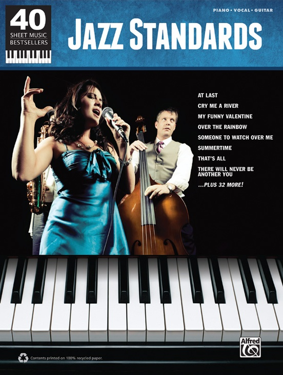 40 Sheet Music Bestsellers: Jazz Standards
