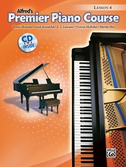 Premier Piano Course, Lesson 4