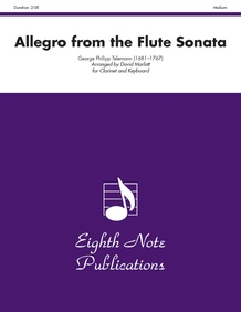 Allegro (from the Flute Sonata)