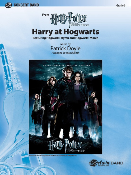 Harry at Hogwarts (from Harry Potter and the Goblet of Fire)