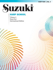 Suzuki Harp School Harp Part, Volume 4