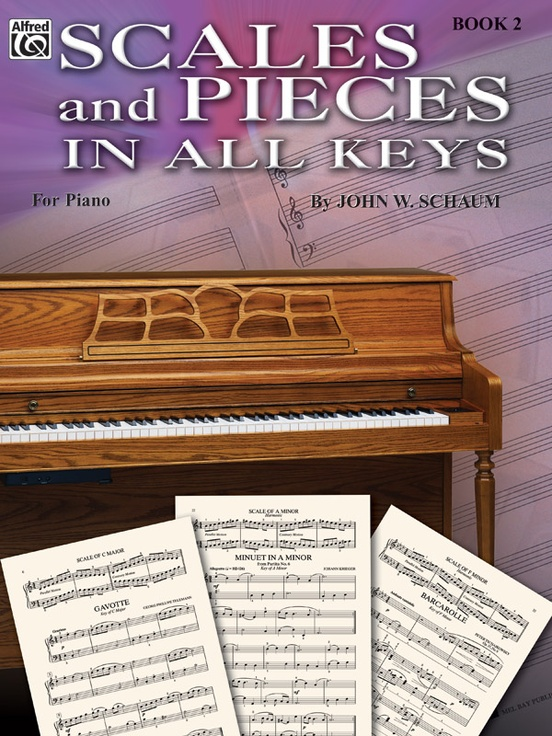 Scales and Pieces in All Keys, Book 2