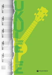Ukulele Music Notebook