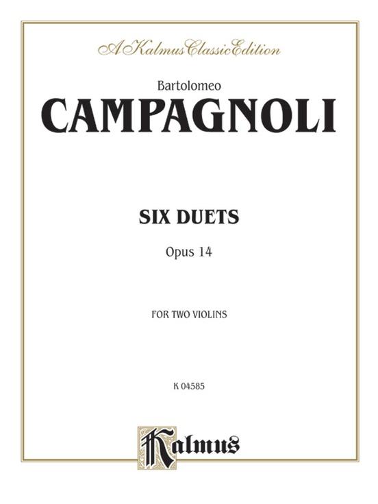 Six Duets, Opus 14