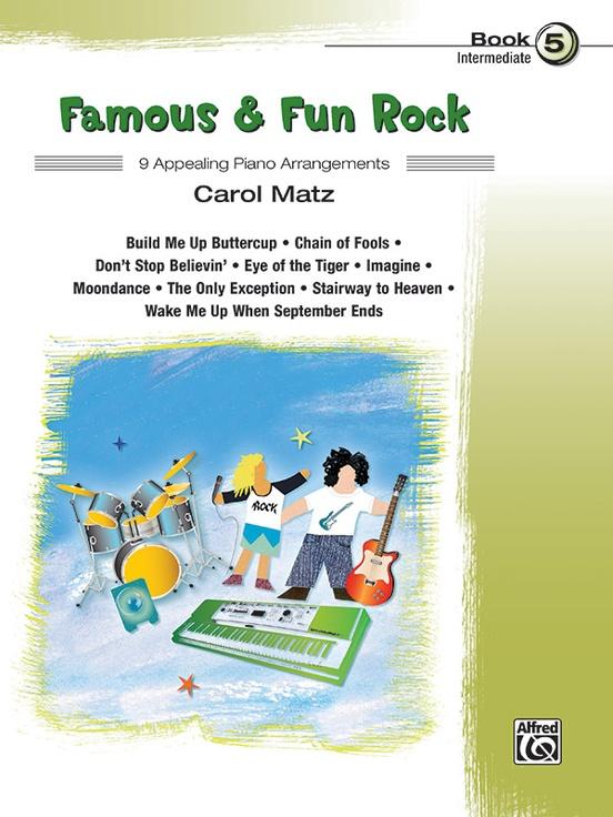 Famous & Fun Rock, Book 5
