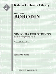Sinfonia for Strings [String Quartet No. 2]