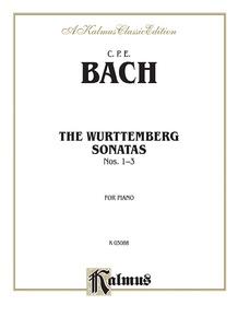 The Württenburg Sonatas, Volume I, Nos. 1-3