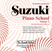 Suzuki Piano School CD, Volume 1