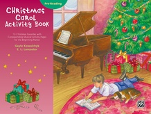 Christmas Carol Activity Book -- Pre-reading