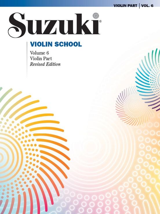 Suzuki Violin School Violin Part, Volume 6 (Revised)