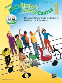 Alfred's Kid's Electric Guitar Course 1