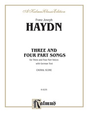 Three and Four Part Songs