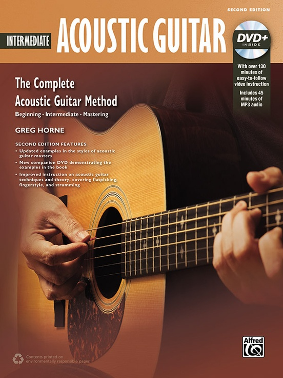 The Complete Acoustic Guitar Method: Intermediate Acoustic Guitar (2nd Edition)