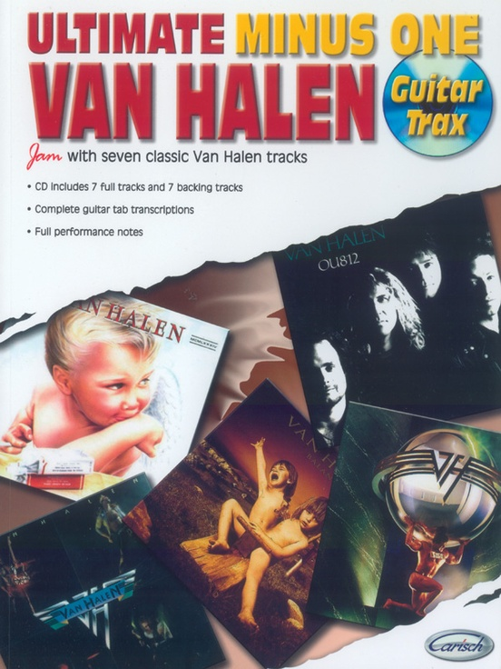 Ultimate Minus One Guitar Trax: Van Halen