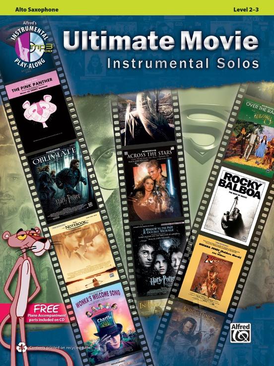 究極の映画音楽ソロ曲集(アルトサックス)【Ultimate Movie Instrumental Solos】