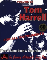 Jamey Aebersold Jazz, Volume 63: Tom Harrell