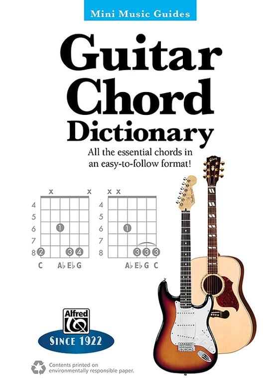 Mini Music Guides Guitar Chord Dictionary Guitar Book