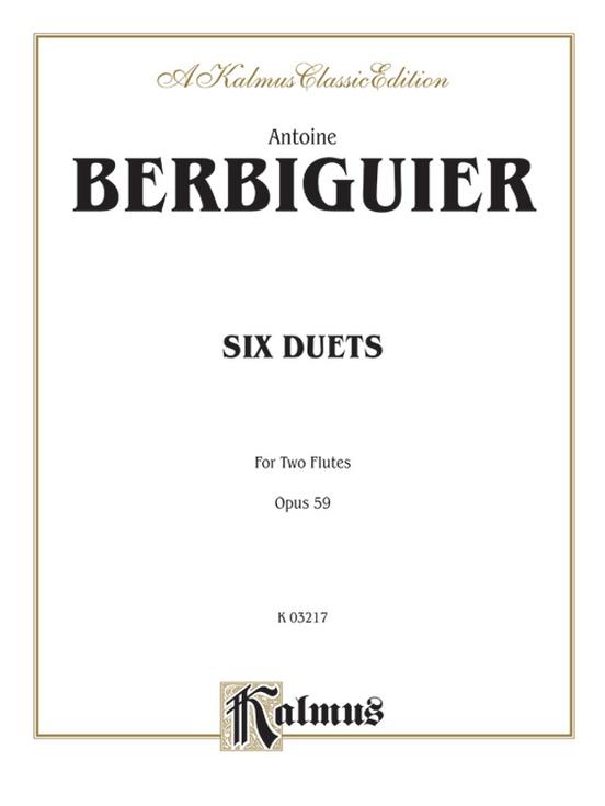 Six Duets, Opus 59