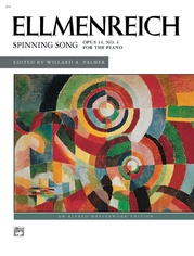 Ellmenreich: Spinning Song, Opus 14, No. 4
