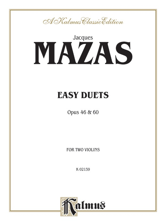 Easy Duets, Opus 46 and 60