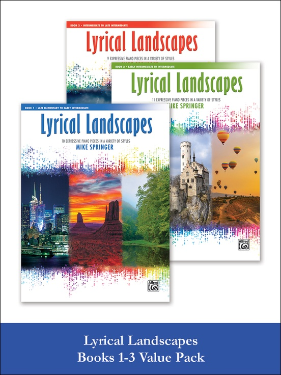 Lyrical Landscapes, Books 1-3