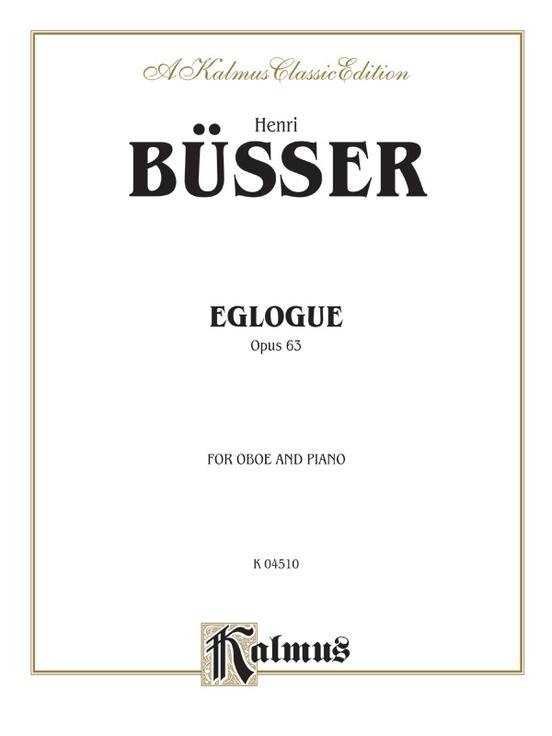 Eglogue, Opus 63