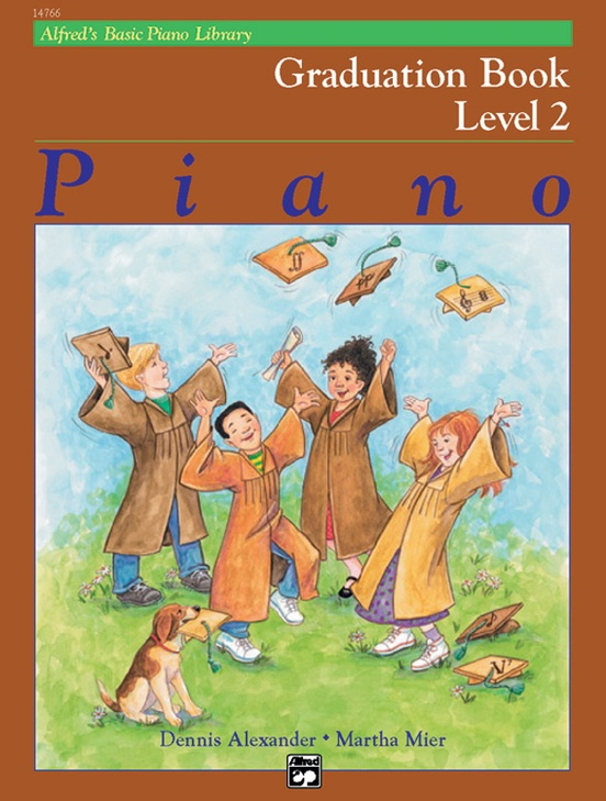 Alfred's Basic Piano Library: Graduation Book 2