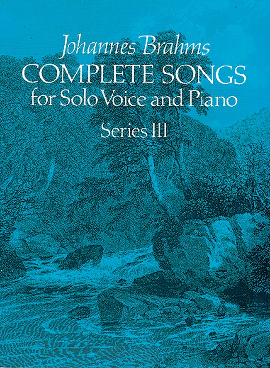 Songs for Solo Voice and Piano, Series 3 (Complete)