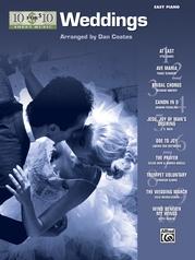 10 for 10 Sheet Music: Weddings