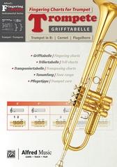 Grifftabelle für Trompete [Fingering Charts for Trumpet]