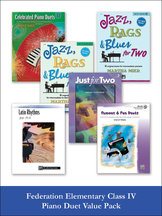 Federation Elementary Class IV Piano Duet (Value Pack)