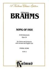 Song of Fate (Schicksalslied), Opus 54