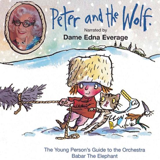 Peter and the Wolf / Dame Edna
