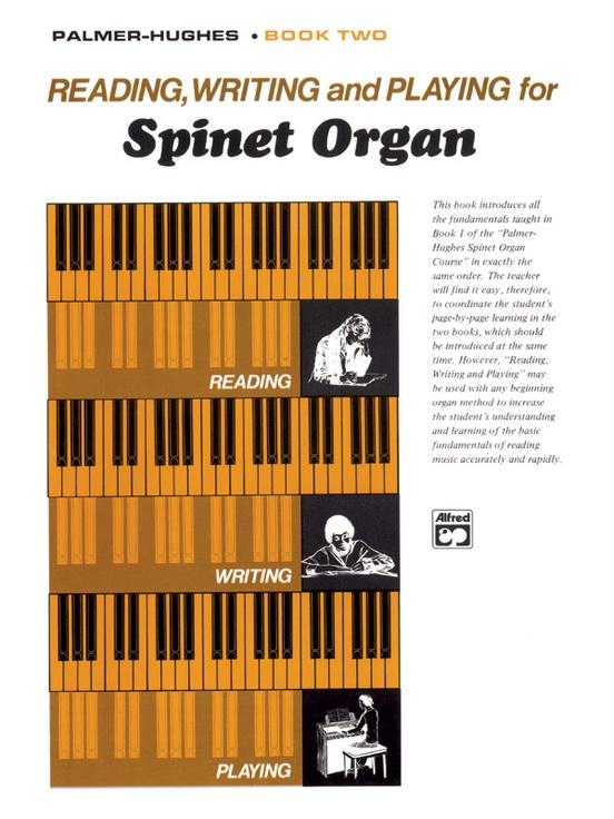 Book 7 Palmer-Hughes Learn to Play Organ MUSIC BOOK Spinet Organ Course