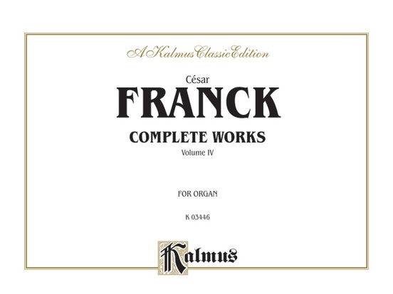Organ Works, Volume IV